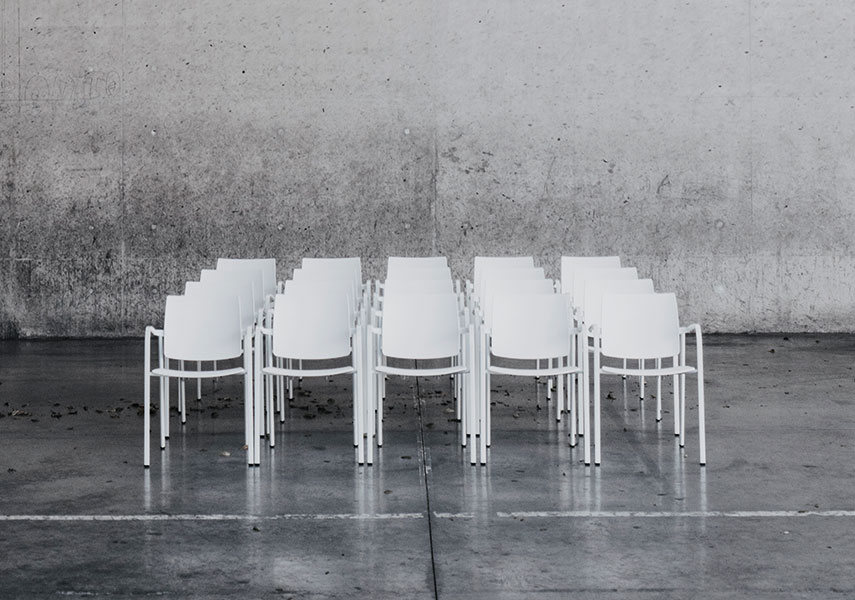 Bio Collections Tubular steel structured chairs