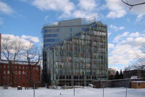 Centro de negocios & hotel Botanicheskii (Moscú) — Enea Design