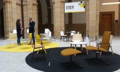 Recibimos a destacados arquitectos de UK en el Basque Living de Deusto — Enea Design