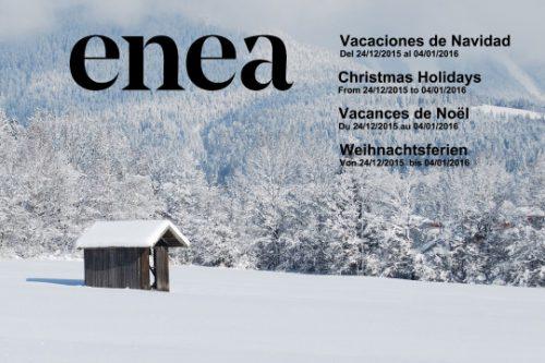 ¡Ya es Navidad! — Enea Design