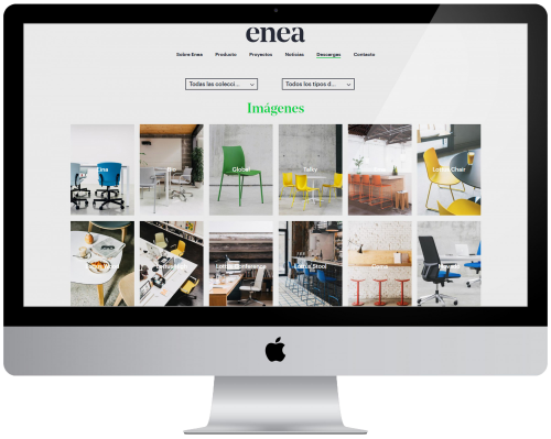 We have updated the downloads area of our website — Enea Design