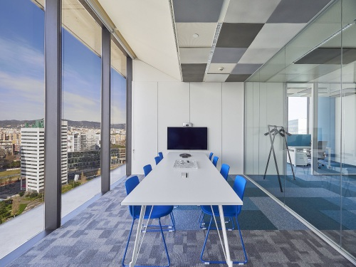An ICT consultancy in Torre Realia equipped with ENEA seats — Enea Design