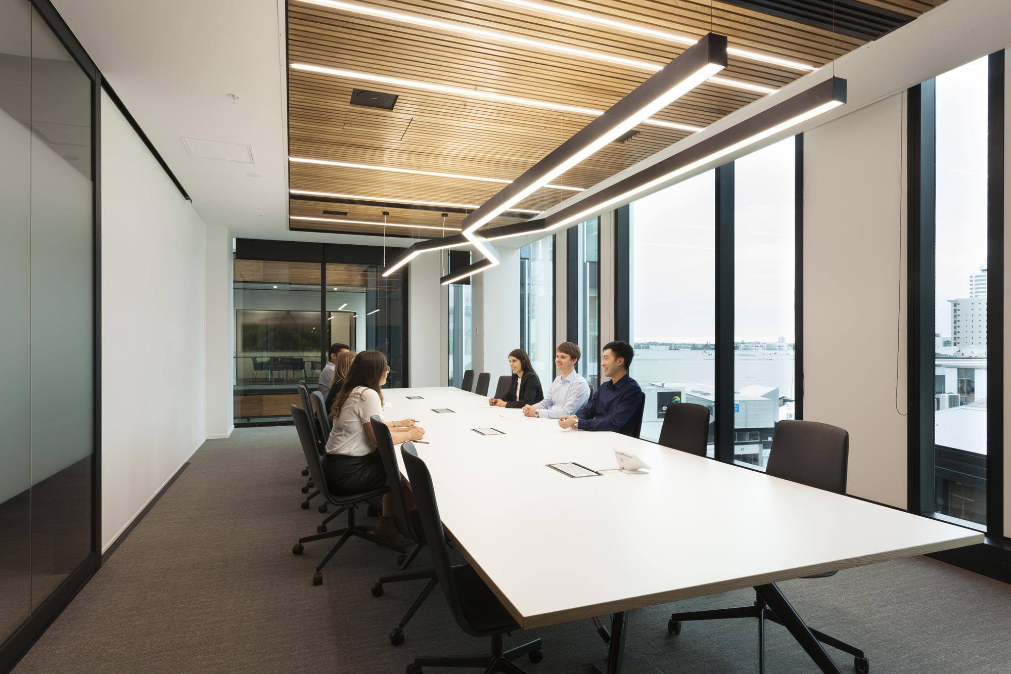 Maersk Line Offices in Auckland furnished with Lottus