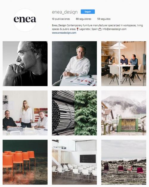 Descubre nuestro Instagram — Enea Design