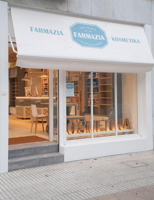 San Pelaio, una farmacia innovadora en Zarautz — Enea Design