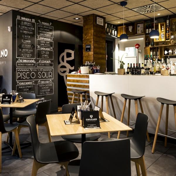 Dernier projet: Chilcano Restaurant — Enea