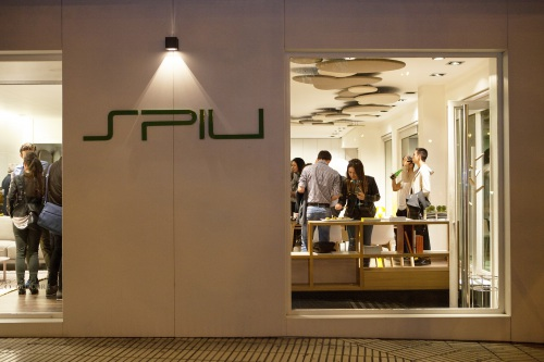 Presentation of our new products at SPIU's showroom in Pamplona — Enea Design