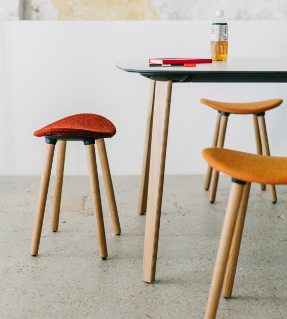 Coma Wood Stool — Enea Design