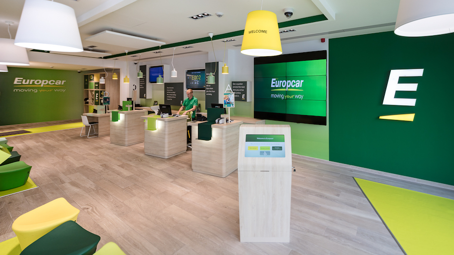 Europcar chooses lottus and oh seats for their renovated for Oficina europcar atocha