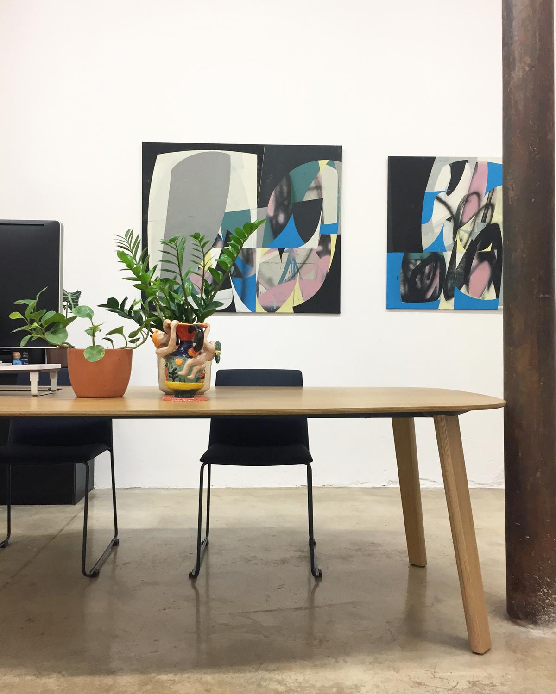 Delimbo Enea colaboración galería de arte