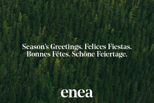 Feliz Navidad 2017 — Enea Design
