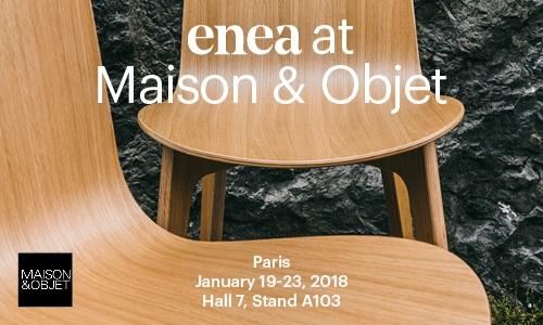 Os esperamos en Maison&Objet 2018 — Enea Design