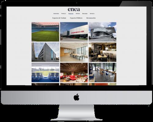 ¿Todavía  no  conoces  la  zona  Proyectos  de  nuestra  web? — Enea Design