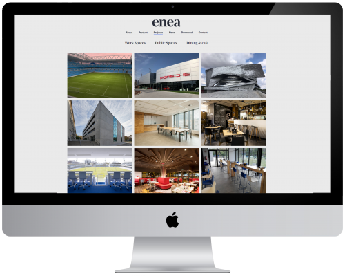 Do you already know the Projects area of our website? — Enea Design