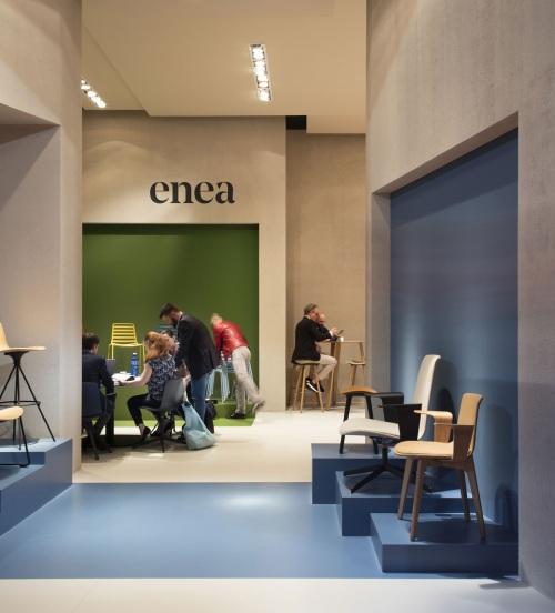 El diseño contemporáneo de Enea al Salone del Mobile 2018 — Enea Design