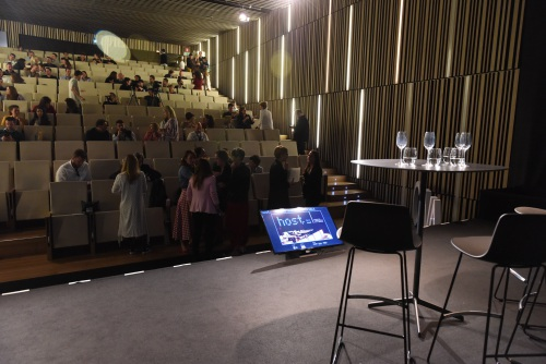 Lottus sobre el escenario del Basque Culinary Center — Enea Design