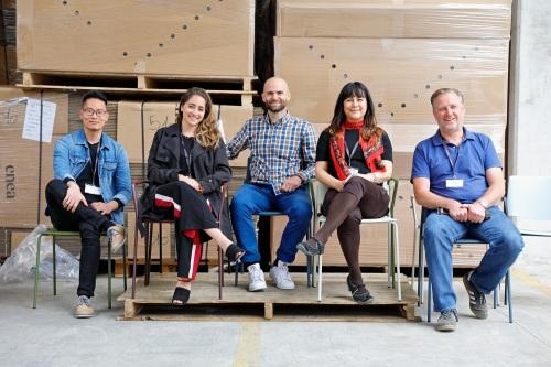 Diseñadores  de  interiores  de  Londres  visitan  Enea — Enea Design