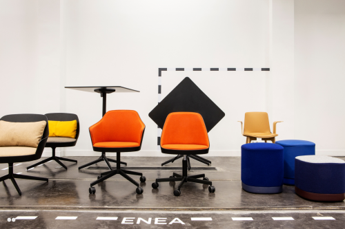 A space for Enea in Moore's Pop-up — Enea Design