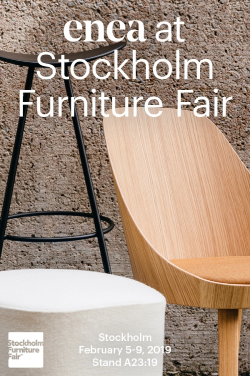 Os  esperamos  en  Stockholm  Furniture  Fair — Enea Design
