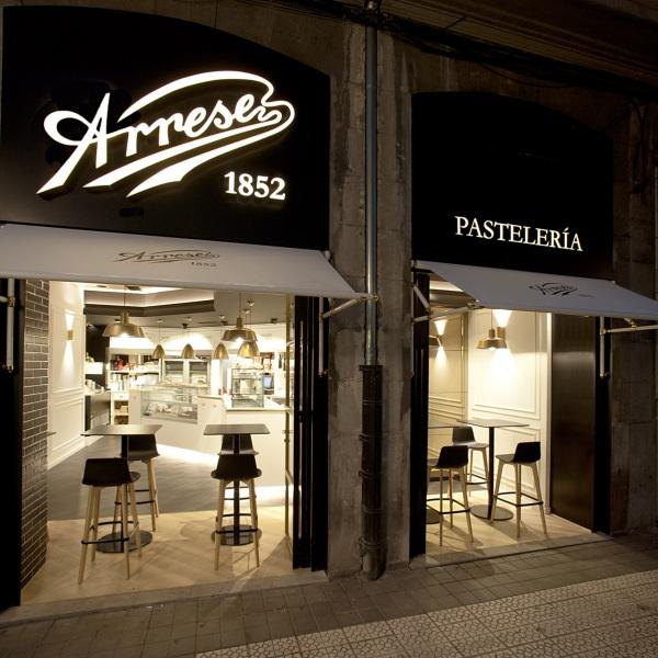 Dernier projet: Pâtiserie Arrese — Enea