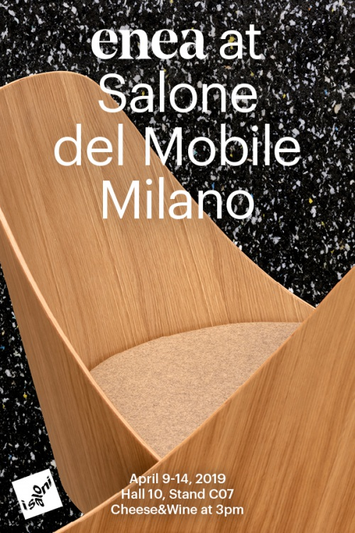 Enea presenta sus novedades en el Salone Internazionale del Mobile — Enea Design
