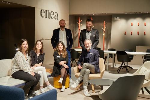 Éxito de Enea en el Salone Internazionale del Mobile — Enea Design