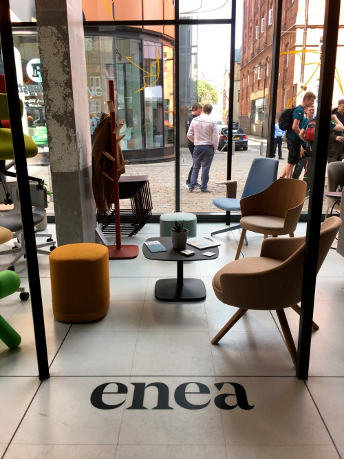 Great reception of Enea at Clerkenwell Design Week — Enea Design