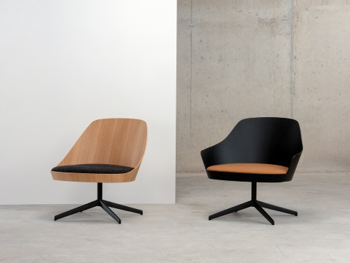 An evolution of Kaiak chair with a lower and wider seat — Enea Design