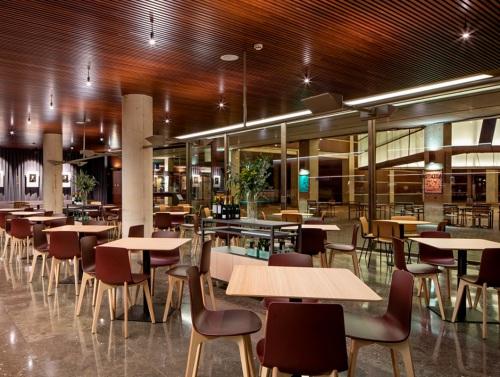 El bar Llanterna del Auditorio de Barcelona renueva su imagen — Enea Design