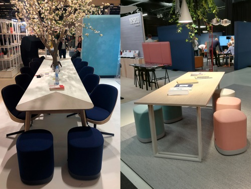 Great success of our Puck poufs in Helsinki and Paris — Enea Design
