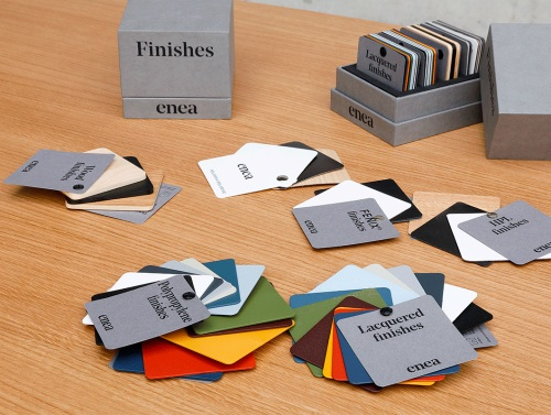 Materials and finishes for every requirement — Enea Design