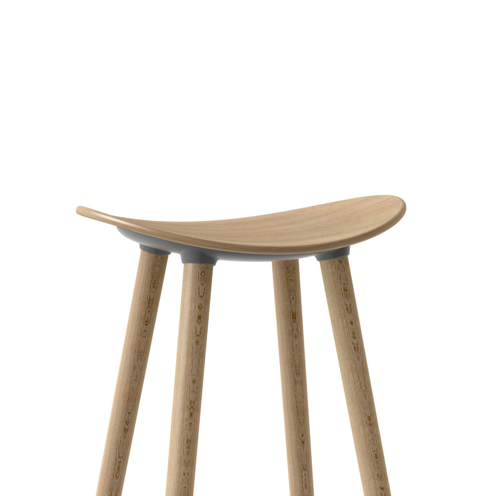 Taburete Coma Wood Enea Design 2016 estilo nórdico