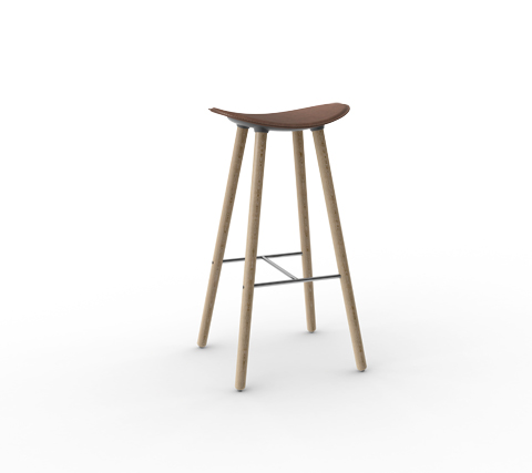 Coma Wood The New Enea S Nordic Stool