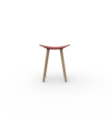 Coma-Wood-Enea-Design-2016-taburete-stool-asiento-rojo