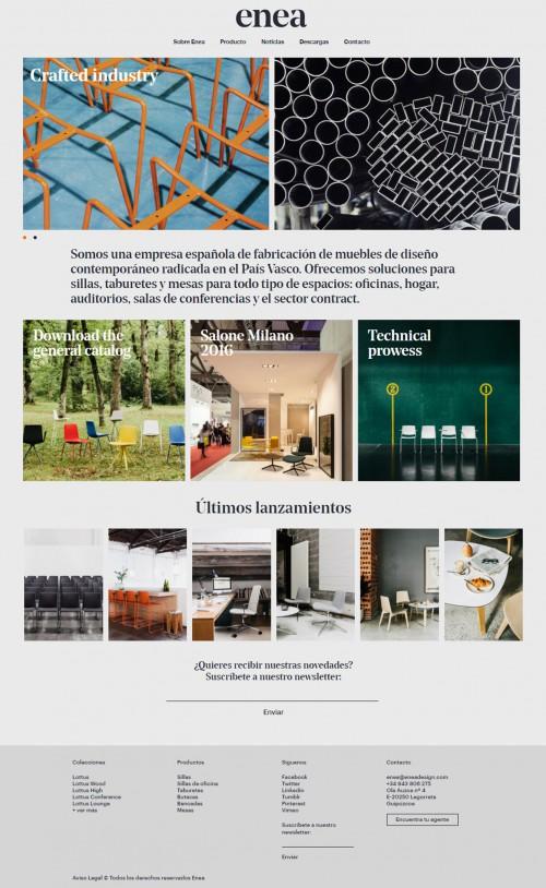 ¡ENEA tiene nueva web! — Enea Design