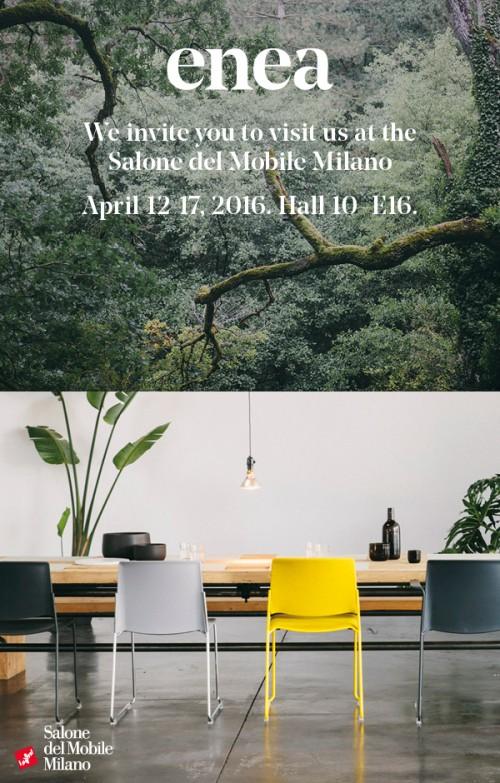 Visita ENEA en el Salone Mobile Milano 2016 — Enea Design