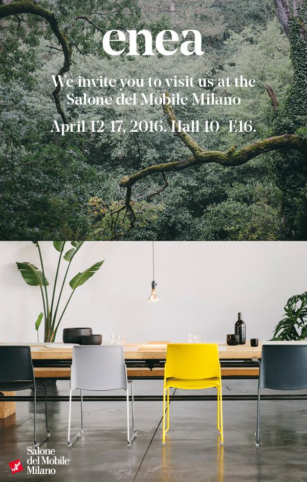 Visit enea at salone mobile milano 2016 enea for Mobile milano 2016