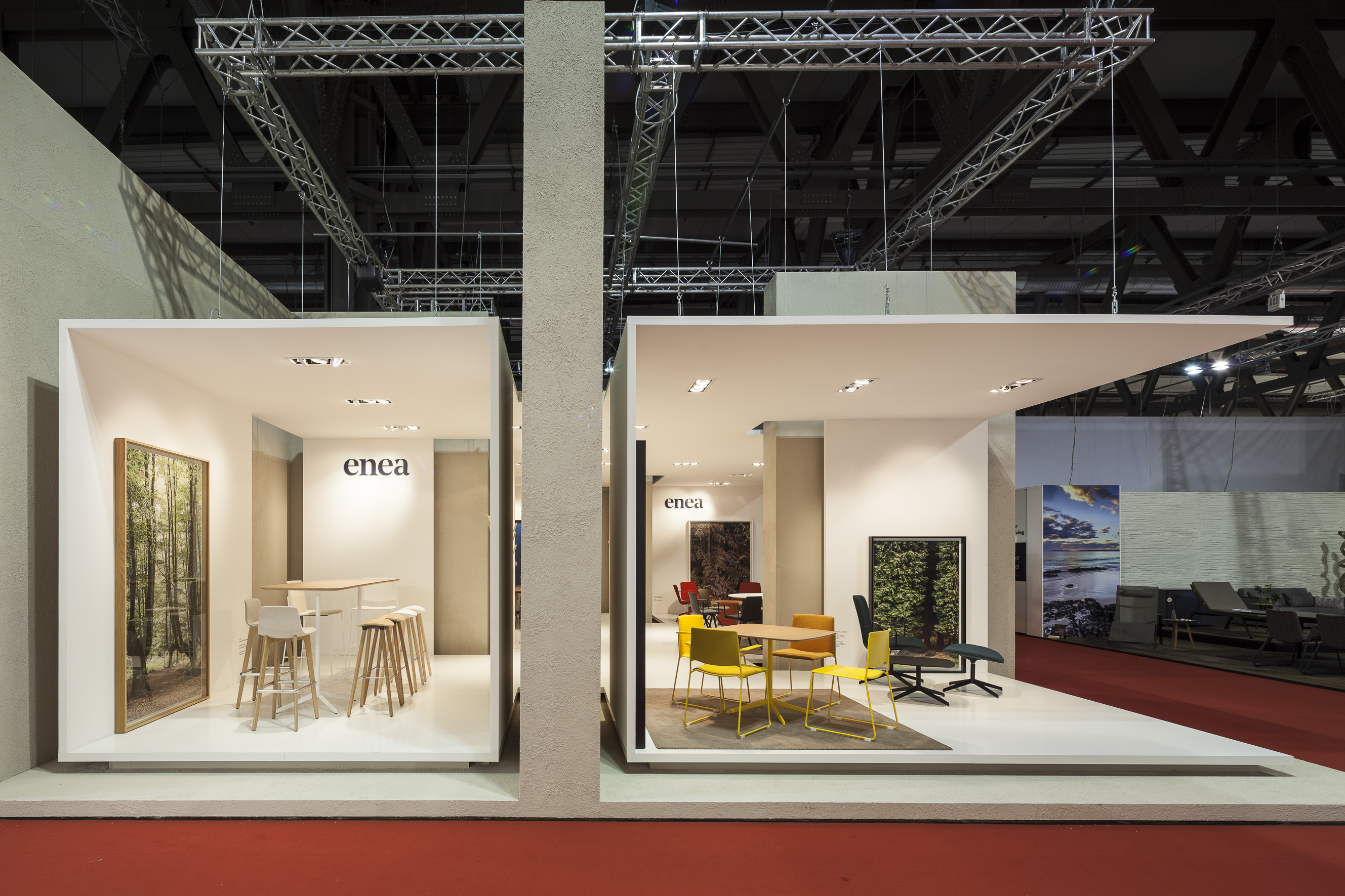 Enea at salone del mobile milano 2016 for Salone del mobile stand