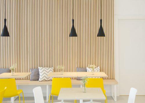 Confitería El Pilar un establecimiento de aires nórdicos — Enea Design