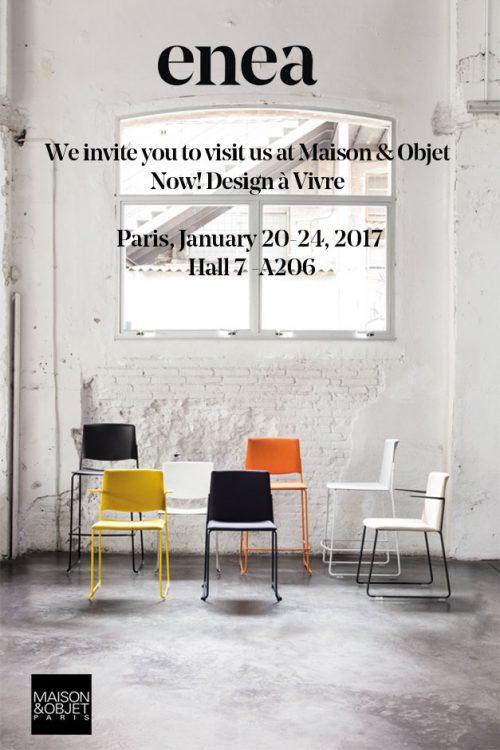 Maison&Objet 2017 — Enea Design