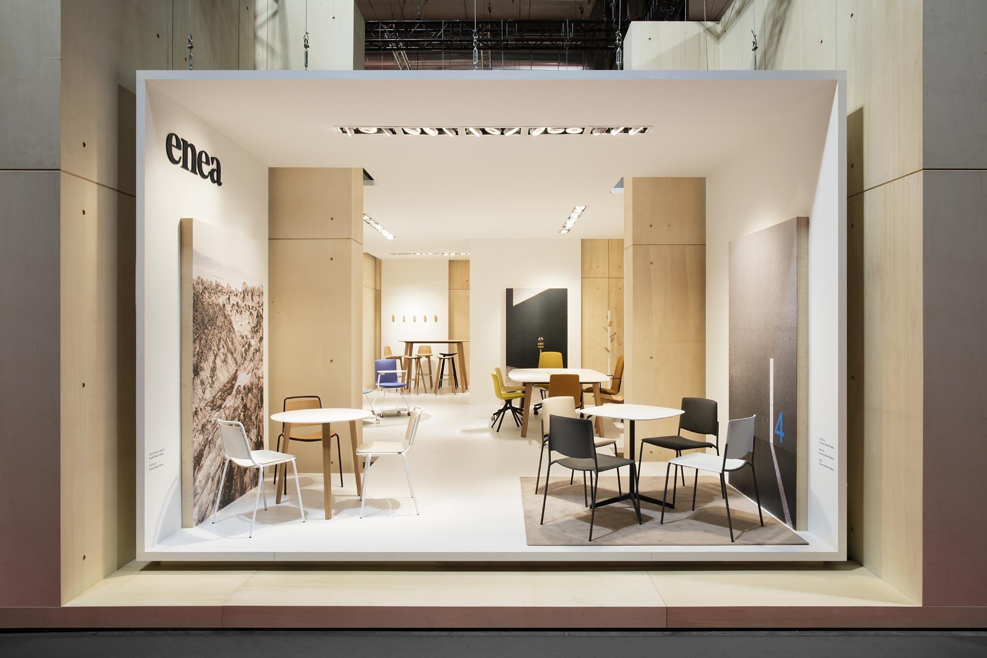 Experiencia Milano 2017: Enea salone del mobile