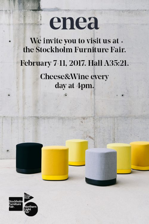 Stockholm Furniture Fair 2017 — Enea Design