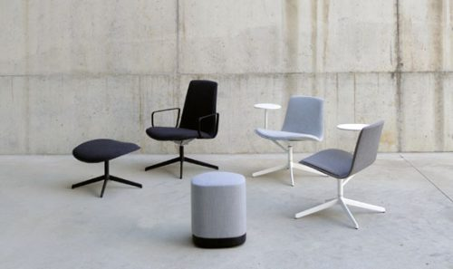 Lottus Note, un asiento funcional para instalaciones soft contract — Enea Design