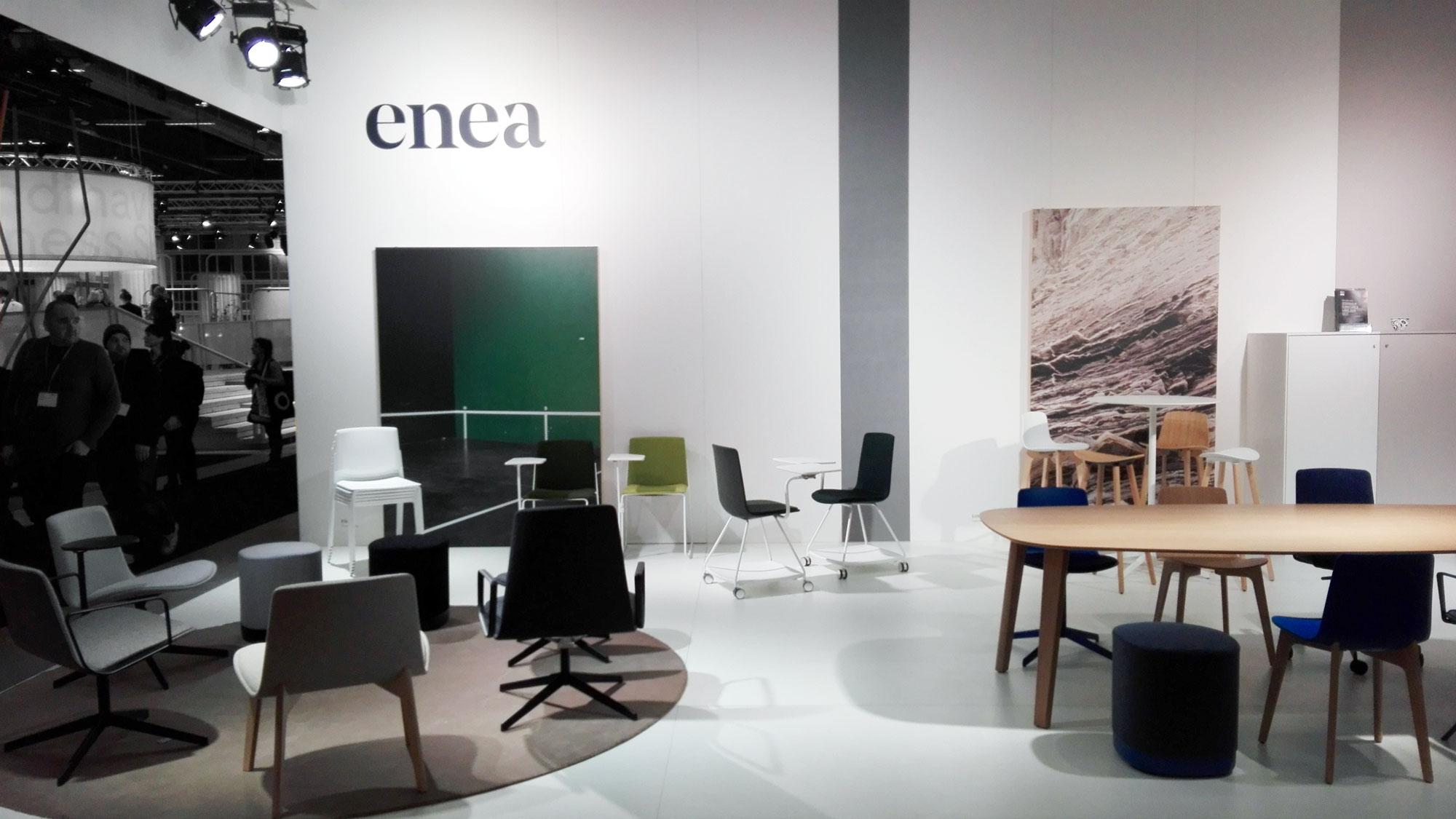 Superfolk A Stockholm Furniture Fair : Enea experience at stockholm furniture fair