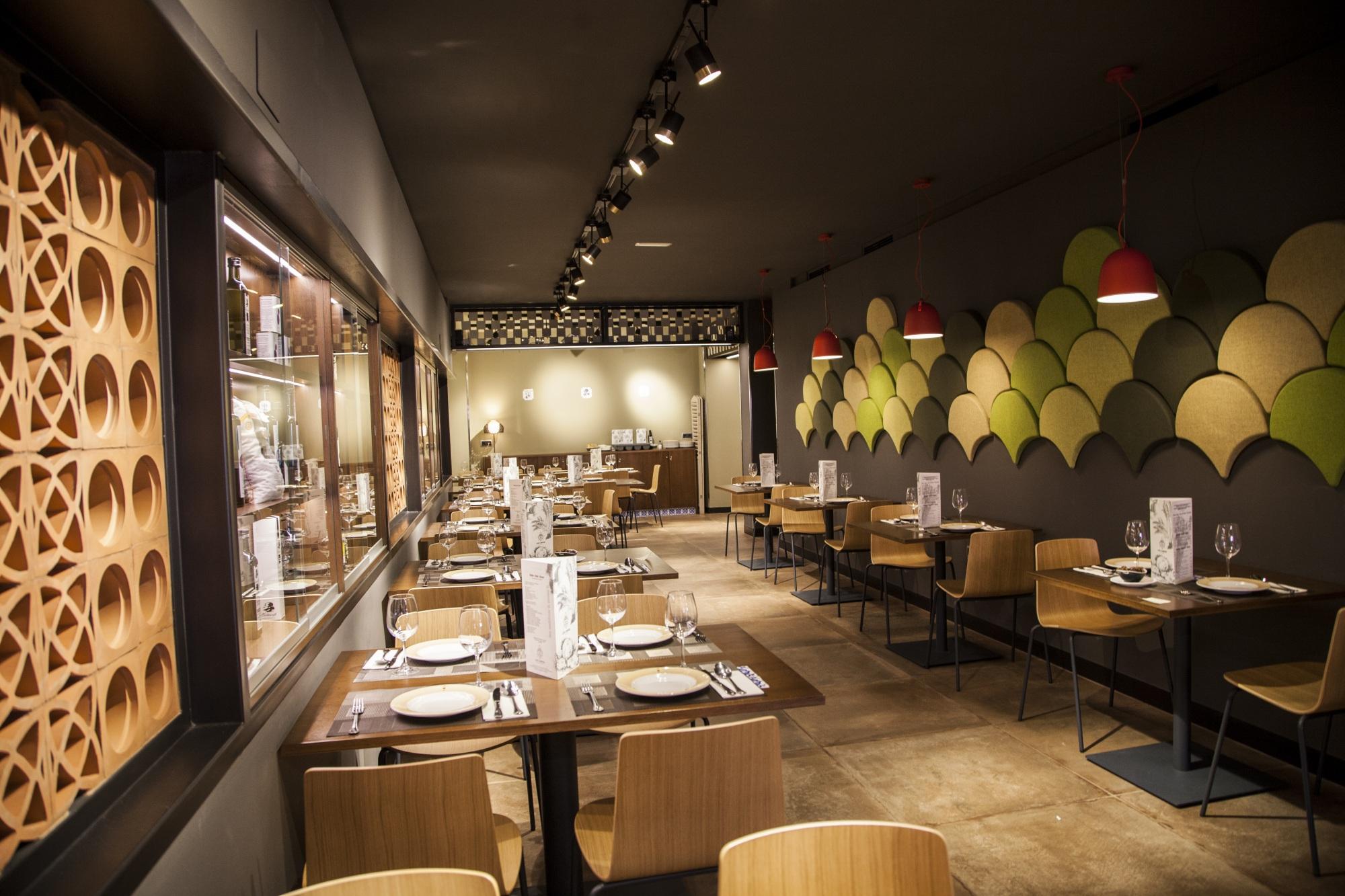 Restaurante Los Cuevas — Enea Design