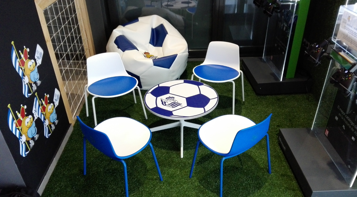 Harrobi bar – Real Sociedad de Fútbol — Enea Design