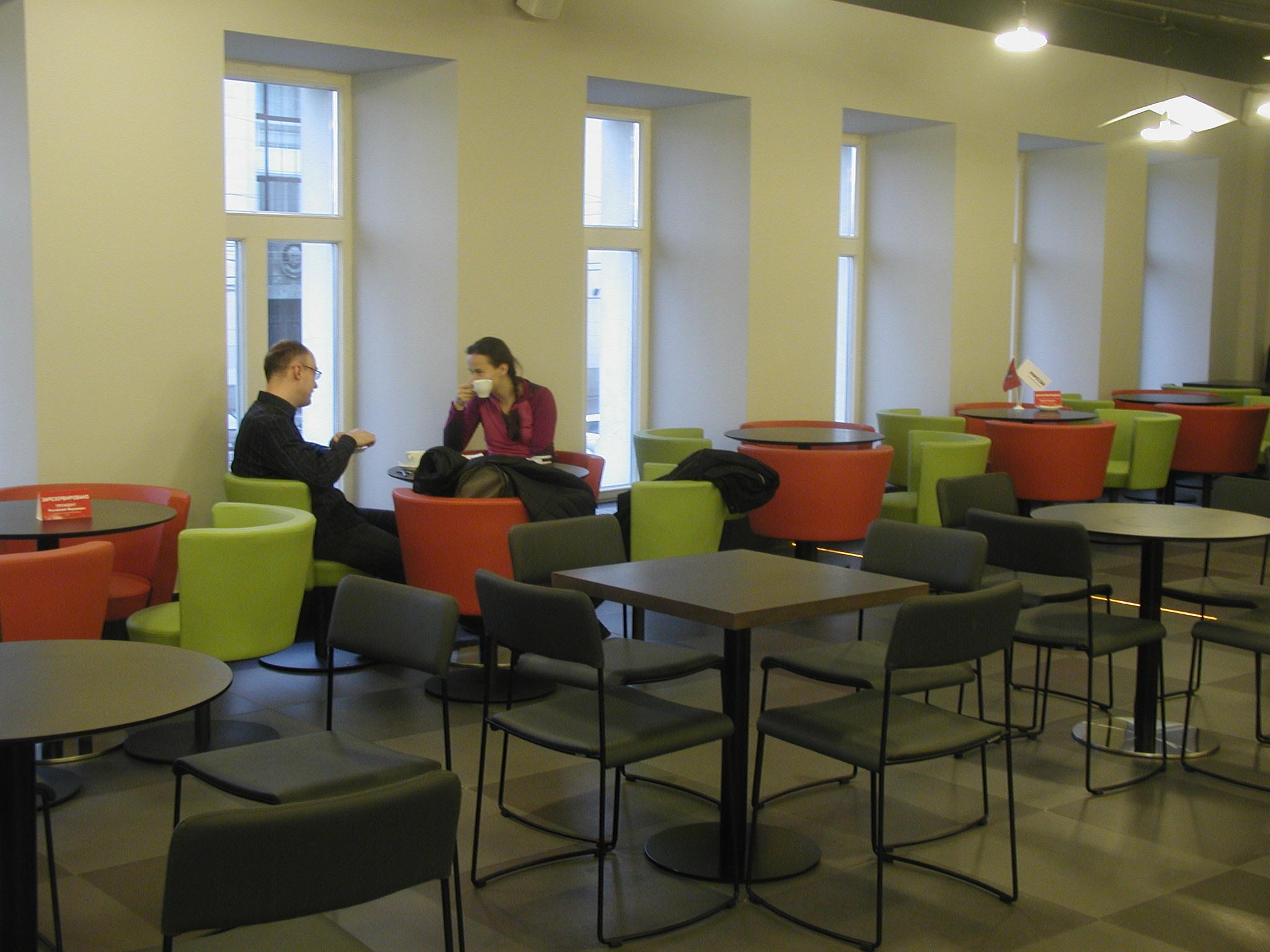 Biblioteca Vozdvízhenka — Enea Design