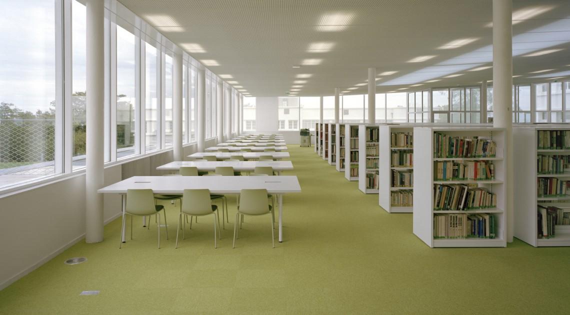 Escuela de aquitectura Clermont-Ferrand — Enea Design